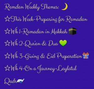 ramadan plan home ed