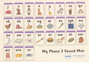 How to teach phase 3 phonics