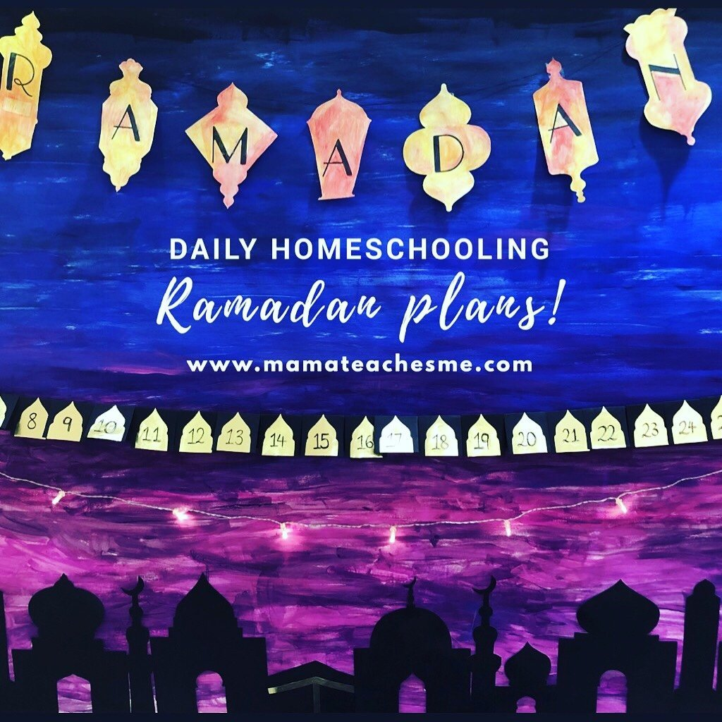 daily homeschooling ramadan plans