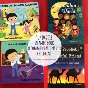 Top 10 Islamic Books for children, mamateachesme