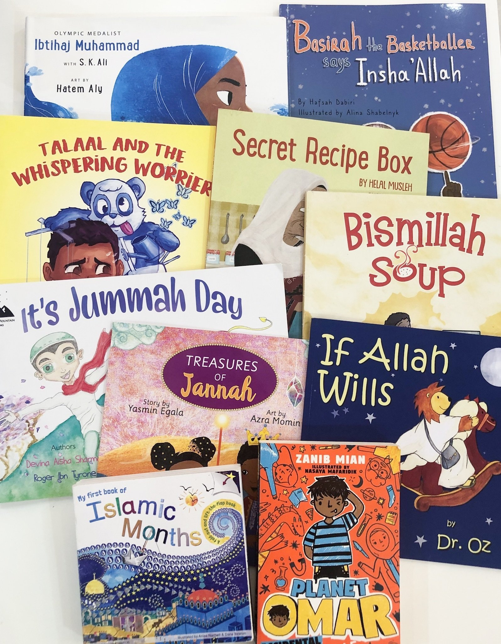 Our Top 10 Favourite Islamic Books For Children (2019)