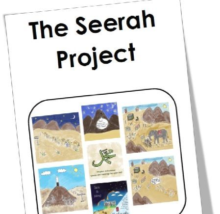 "<span itemprop=""name"">Mama Teaches Me Seerah – The Seerah Project (Colour)</span>"
