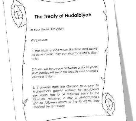 MTM Seerah: The Treaty of Hudaibiyah Resources
