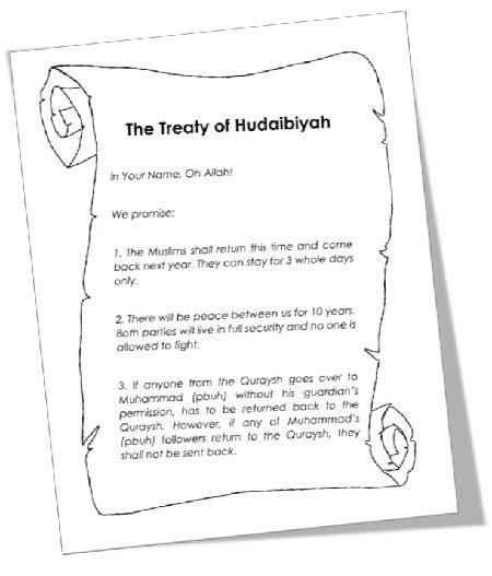 "<span itemprop=""name"">MTM Seerah: The Treaty of Hudaibiyah Resources</span>"