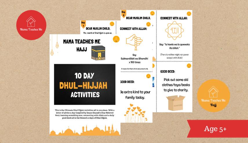 Hajj activities for kids